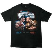 T-SHIRT WRESTLEMANIA 28 ROCK VS. CENA M (WM28)