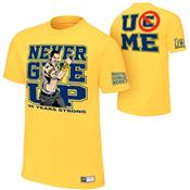 JOHN CENA GOLD 10 YEARS STRONG YOUTH T - M