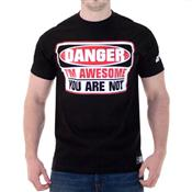 T-SHIRT THE MIZ ONSLAUGHT OF AWESOMENESS XL