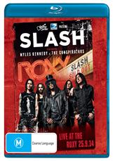 Live At The Roxy 25.9.14 (bluray)