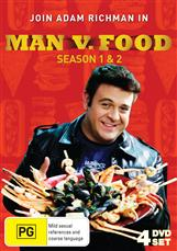 Man Vs Food - Season 1 & 2 Collection