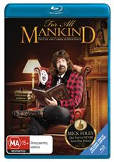FOR ALL MANKIND - LIFE & CAREER OF MICK FOLEY  (BLURAY)
