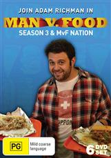 Man Vs Food - Season 3 + Nation Collection