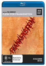 Flesh For Frankenstein (bluray)
