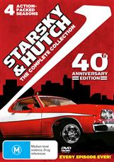 Starsky & Hutch Season 1 - 4 Complete Collection