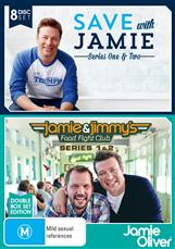 Jamie Oliver Box Set (save With Jamie S1 & 2 + Jamie & Jimmys Food Fight Club S1 & 2)