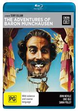 Adventures Of Baron Munchausen (1988) Blu-ray