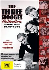 Three Stooges, The - Volume 1 - 1934-1936