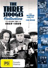 Three Stooges, The - Volume 2 - 1937-1939