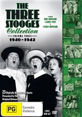 Three Stooges, The - Volume 3 - 1940-1942