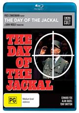 Day Of The Jackal, The Blu