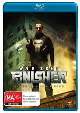 The Punisher War Zone Blu