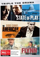 Drama Triple (state Of Play, The American, Being Flynn)