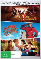 Family Triple (the Borrowers, Dudley Do Right, Flintstones In Viva Rock Vegas)