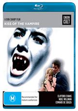 Kiss Of The Vampire (blu)