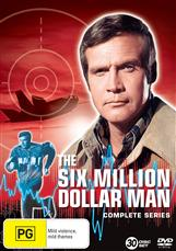 Six Million Dollar Man Complete Collection