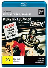 Revenge Of The Creature (blu)