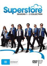 Superstore Seasons 1 - 3 Collection