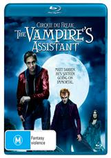 Cirque Du Freak: The Vampires Assistant (blu)