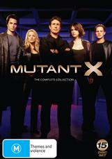 Mutant X Full Collection  (hd)