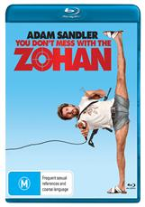 You Dont Mess With The Zohan Blu