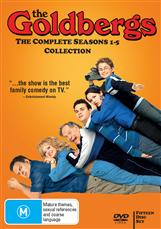 The Goldbergs Season 1 - 5 Collection