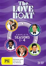 Love Boat Season 1 - 4 Collection