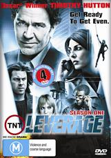 Leverage S1 - 4 Disc Set