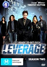Leverage S2 - 4 Disc Set
