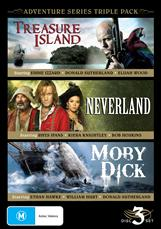 Adventure Series Triple Pack - Moby, Treasure, Neverland