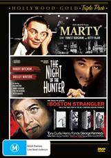 Marty/night Of The Hunter/boston Strangler