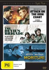 Attack On The Iron Coast / Devils Brigade / Morituri
