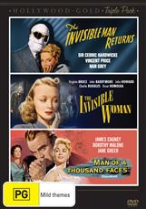 Invisible Man Returns, The / The Invisible Woman / Man Of A Thousand Faces
