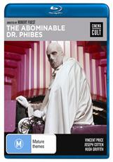 Abominable Dr Phibes - Bluray