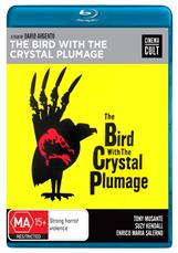 The Bird With The Crystal Plumage - Bluray