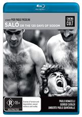 Salo, Or The 120 Days Of Sodom Bluray