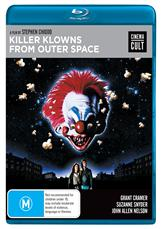 Killer Klowns From Outer Space Bluray