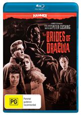 Hammer Horror: The Brides Of Dracula Bluray