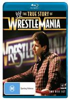 THE TRUE STORY OF WRESTLEMANIA (BLURAY)