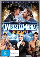 WRESTLEMANIA 27 (XXVII) COLLECTORS EDITION 3DVD