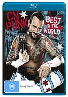 CM PUNK - BEST IN THE WORLD (BLURAY)