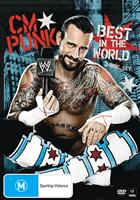 CM PUNK - BEST IN THE WORLD (BONUS SWEATBANDS)