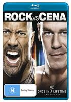THE ROCK VS. JOHN CENA: ONCE IN A LIFETIME (BLURAY)