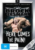 BROCK LESNAR: HERE COMES THE PAIN COLL. ED.