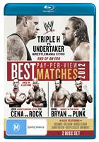 THE BEST PAY-PER-VIEW MATCHES OF 2012 (BLURAY)