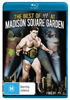 BEST OF WWE AT MADISON SQUARE GARDEN (BLURAY)