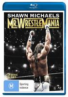 SHAWN MICHAELS - MR. WRESTLEMANIA (BLURAY)