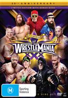 WRESTLEMANIA 30 - LIMITED EDITION + BOOK